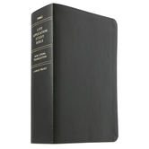 NLT Life Application Study Bible, Large Print, Bonded Leather, Thumb Indexed, Multiple Colors