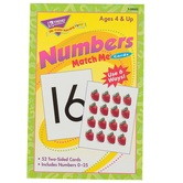 TREND enterprises, Inc., Numbers Match Me Cards, 52 Cards, 3 x 4 inches, Ages 4+