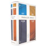 NIV KJV NASB AMP Parallel Bible, Hardcover