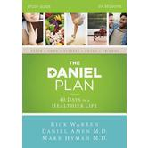 The Daniel Plan Study Guide: 40 Days to a Healthier Life