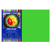 Tru-Ray® Sulphite Construction Paper, 12 x 18 inches, Holiday Green, 50 Sheets