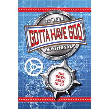Gotta Have God, Cool Devotionals for Guys Ages 10-12, by RoseKidz, Paperback