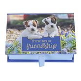 Christian Art Gifts, Little Box of Friendship Pass Around Cards, 3 1/2 x 2 1/2 inches, 24 Cards