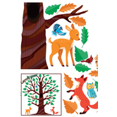 Renewing Minds, Oak Tree Bulletin Board Set, 108 Pieces