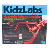 4M, KidzLabs, Hydraulic Robotic Arm, 35 Pieces, Ages 5 Years and Older