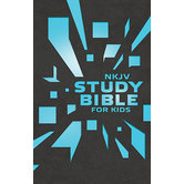 NKJV Study Bible for Kids, Duo-Tone, Gray and Blue