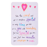 Blue Mountain Arts, How Special You Are Wallet Card, 2 x 3 1/4 inches