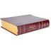 NKJV Full Color Study Bible, Bonded Leather, Burgundy