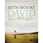 David Bible Study Book: Seeking a Heart Like His by Beth Moore, Paperback
