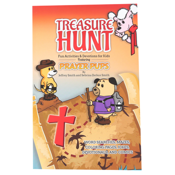 Broadstreet Publishing, Treasure Hunt Prayer Pups Activity Book, 128 Pages, Grades 2-5
