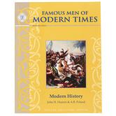 Memoria Press, Famous Men of Modern Times Text, 165 Pages, Grades 6-8