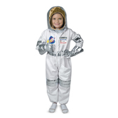 Melissa & Doug, Astronaut Costume Set, Ages 3 to 6 Years Old, 3 Pieces