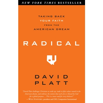 Radical: Taking Back Your Faith From The American Dream, by David Platt