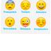 Creative Teaching Press, Como Te Sientes Hoy Emoji Chart, Spanish, How Are You Feeling, 17 x 22-Inch
