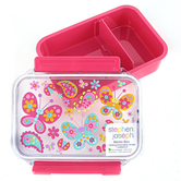 Stephen Joseph, Butterfly Bento Box, Plastic, 7 x 5 x 2 inches