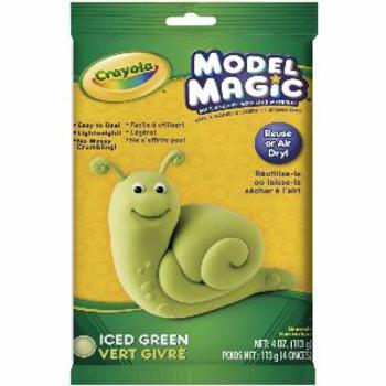 Crayola, Model Magic Modeling Compound, Iced Green, 4 ounces