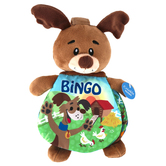 Ebba, Bingo Plush Dog with Book, Story Pals, 9 inches