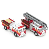 Toysmith, Die-Cast Pull-Back Fire Engine, Assorted Styles, Ages 3 and up, 1 Each