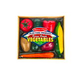 Melissa & Doug, Farm Fresh Veggies, Ages 3 to 6 Years Old, 8 Pieces