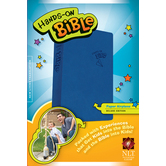 NLT Hands On Bible, Duo-Tone, Blue