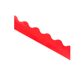 Renewing Minds, Scalloped Border Trim, 38 Feet, Red