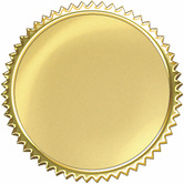 TREND enterprises Inc., Gold Burst Award Seals, 2 Inches Diameter, Pack of 32