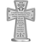 Abbey and CA Gift, Dad Standing Cross, 3 inches