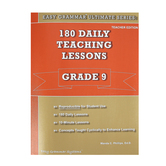 Easy Grammar Ultimate Series: 180 Daily Teaching Lessons Grade 9 Teacher Edition, Paperback, Grade 9