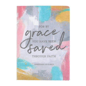 SoulScripts, Ephesians 2:8 For By Grace, Hardcover Journal, 5 1/2 x 7 inches, 96 Pages