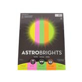Astrobrights Neon Color Paper, 5 Colors, 24 Lb, 100 Sheets