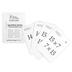 Classical Conversations, Math Flashcards Set 2, Multiplication, Commutative Law, 68 Cards, Grades K-5
