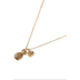 Bella Grace, Stay Sweet Pineapple Pendant Necklace, Gold, 18-inch Chain