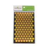 Renewing Minds, Foil Stars Mini Incentive Stickers, Gold, Pack of 1050
