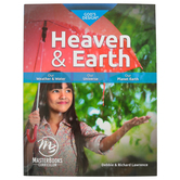 Master Books, God's Design for Heaven and Earth Student Book, Paperback, Grades 3-8