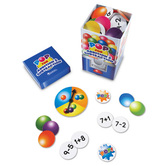 Learning Resources, Pop for Addition and Subtraction Game, Kindergarten and Up, 2 to 4 Players