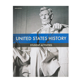 BJU Press, United States History Student Activities Manual, 5th Edition, Paperback, Grade 11