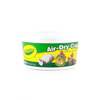 Crayola Air-Dry Clay, 2 1/2 Pounds, White