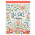 Christian Art Gifts, Be Still and Know Coloring Cards for Adults, 20 Designs, 4 3/4 x 6 1/2 inches