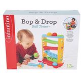 Infantino, Bop & Drop Ball Tower, Ages 12 Months & Older