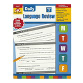 Evan-Moor, Daily Language Review, Grade 7, Teacher's Edition, Paperback, 136 Pages