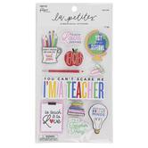 The Paper Studio, Teacher 3D Stickers, 11 Stickers