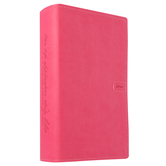 NLT Teen Life Application Study Bible, Compact Edition, Leatherlike, Pink