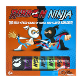 Fat Brain Toys, Ribbon Ninja, 30 Pieces, Ages 6 to 10