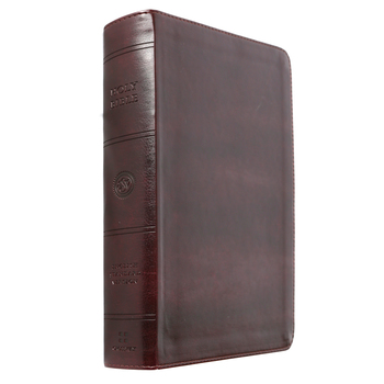 ESV Large Print Personal Size Bible, TruTone, Mahogany