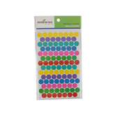 Renewing Minds, Colorful Dots Mini Incentive Stickers, Assorted Colors, Pack of 1050