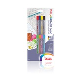 Pentel, 8-Color Pencil Lead Refill, Bold Point, Assorted Colors, Pack of 8
