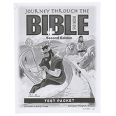 Christian Liberty Press, Journey Through the Bible Book 2 Test Packet, 60 Pages, Grades 8-9