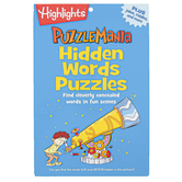 Highlights, Puzzlemania Hidden Words Puzzles, 64 Pages, Ages 6 - 12