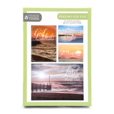 ThreeRoses, Beaches at Sunrise Praying for You Cards, 12 count