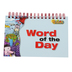 Primary Concepts, Word of the Day Activity Book, Spiral, 192 Pages, 8.5 x 5-Inches, Grades PreK - 3